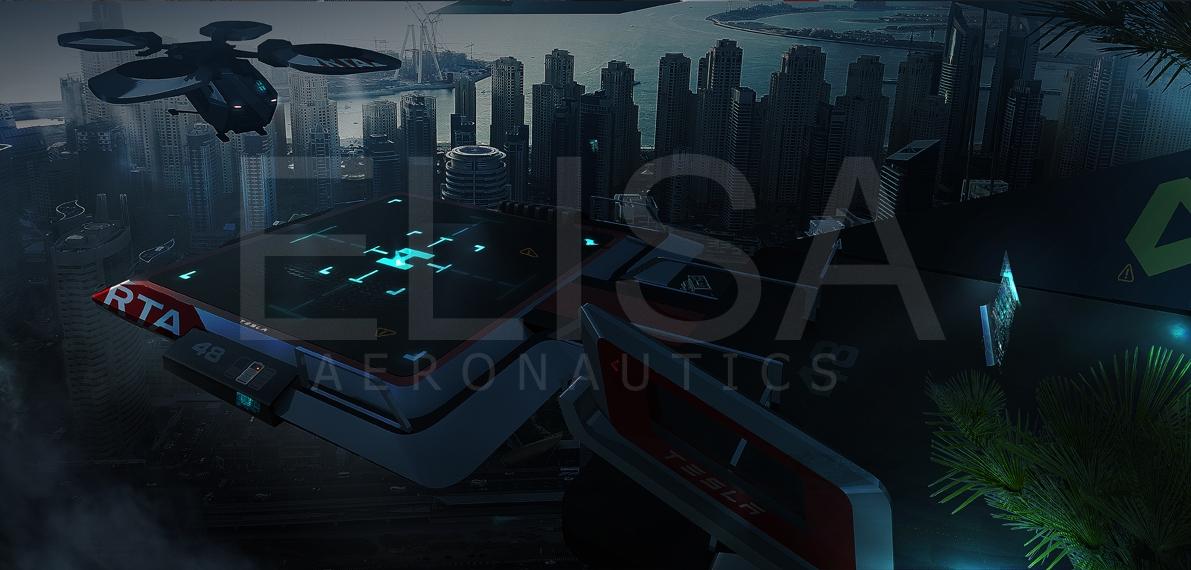Elisa aeronautics RTA Tesla