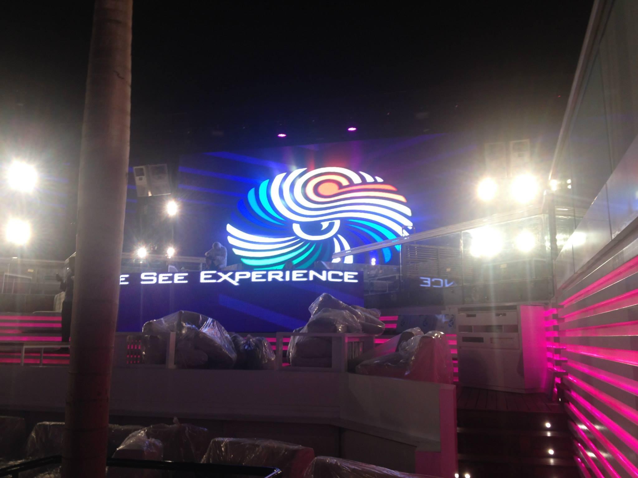 Electroluminescent store Beirut