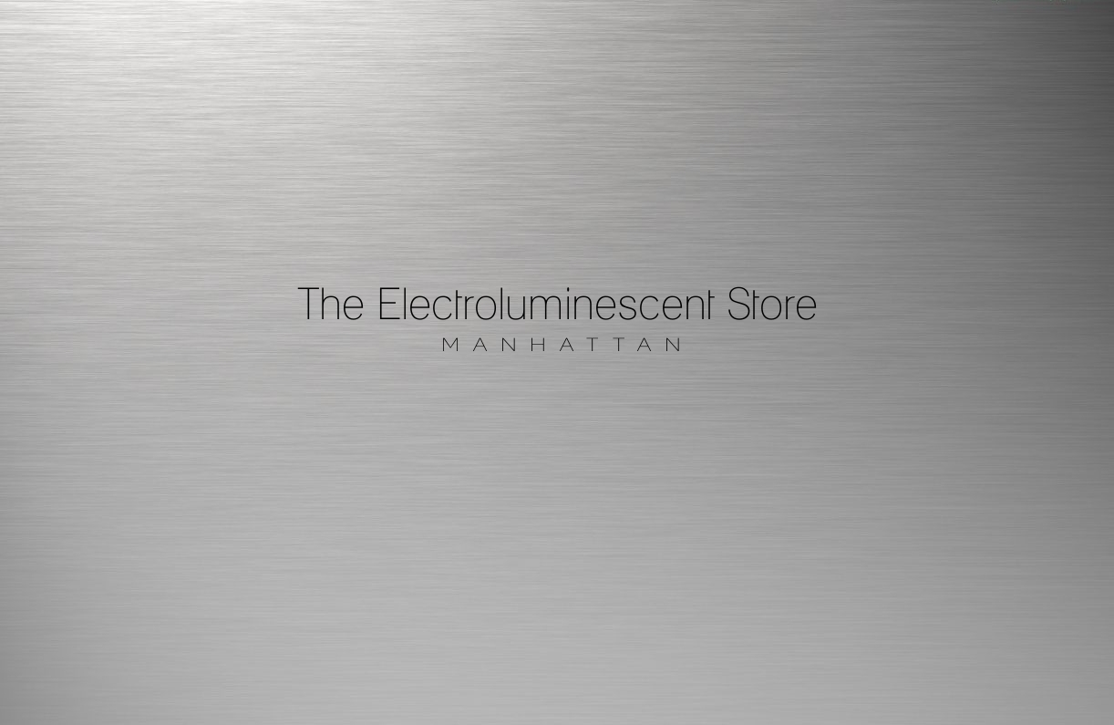 Electroluminescent store Manhattan