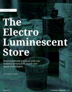 Catalog electroluminescent production